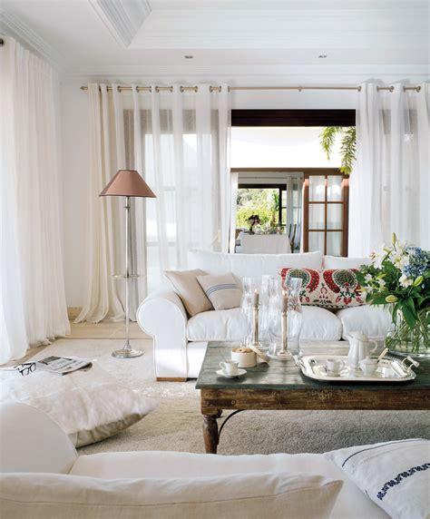 cortinas rusticas para salon c 243 mo elegir el color para tu casa