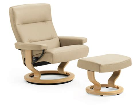 ekornes stressless pacific ottoman and recliner chair