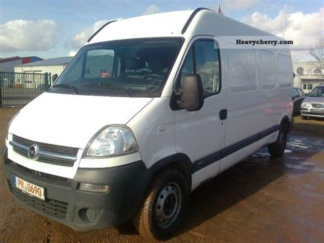 opel movano 2008 2008 opel movano photos informations articles