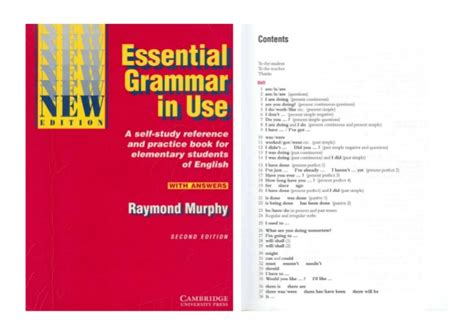 r murphy essential grammar in use with answers new edition