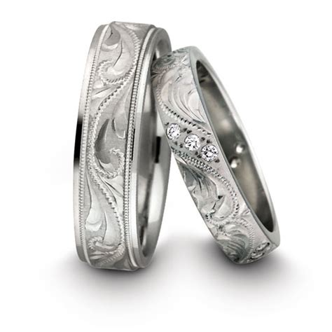 platinum wedding rings his and hers his and hers wedding rings the wedding specialiststhe