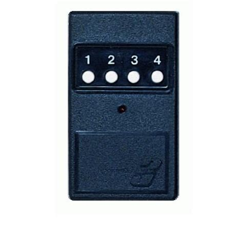 10 Pin Garage Door Opener by Linear Delta3 Dt3 1 Four Button Gate Garage Door Opener