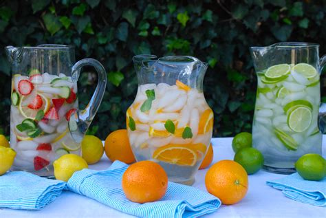 fruit water fruit infused water can