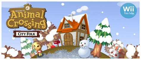Animal Crossing City Folk Genie L by Animal Crossing City Folk Wii Para Todos