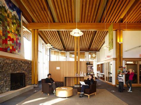 design elements library whistler public library design by hughes condon marler
