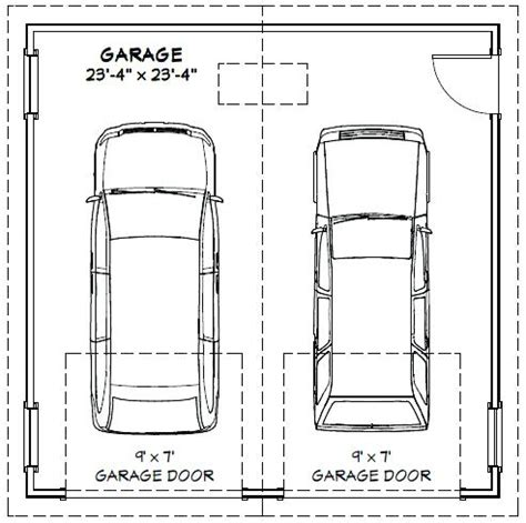 What Is The Size Of A Standard Garage Door 2 Car Garage Door Dimensions Venidami Us