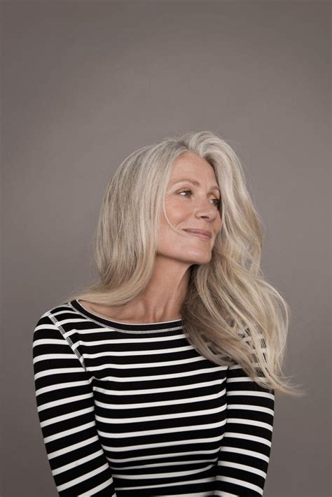 older models with gray hair 22 best pia gronning images on pinterest grey hair