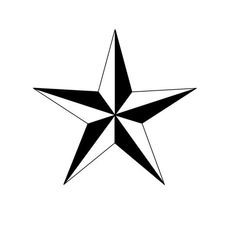 6 point star tattoo how to draw a nautical 6 steps with pictures wikihow