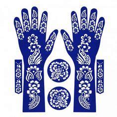 henna sticker stencil henna and stencils