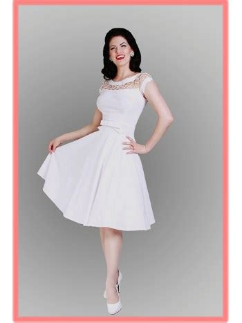 white swing dress wedding bettie page 50 s inspired white fishnet top alika swing