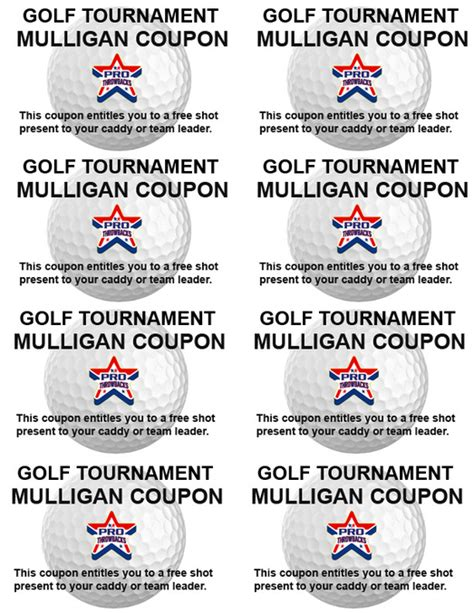 mulligan card template golf tourney schedule prothrowbacks 1 sports