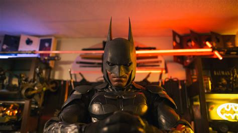 how one real life batman uses the character to channel his