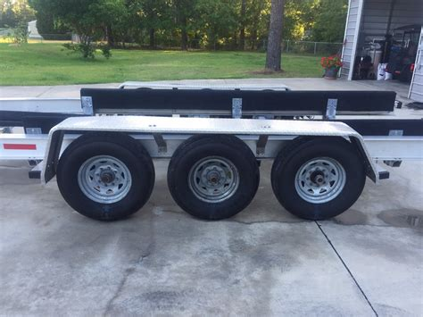 boat trailer axles jacksonville fl 2013 ace aluminum triple axle trailer sold the hull