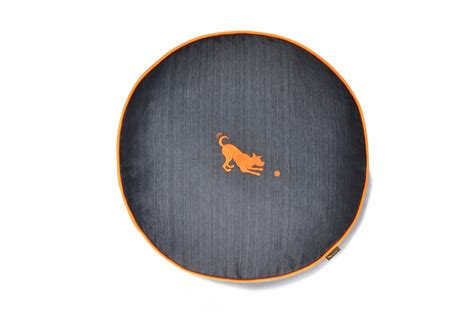 play dog beds urban denim round dog bed play care 4 dogs on the go