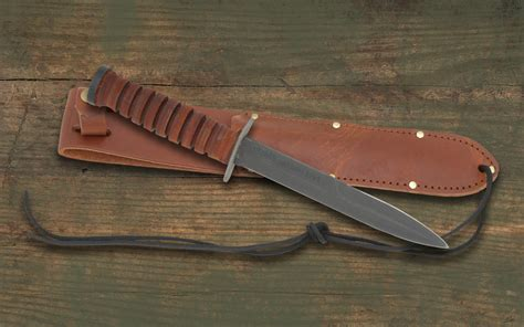 keep it classic with the ontario iii trench knife