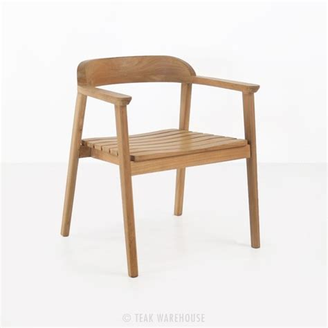 Teak Dining Chairs Neil Teak Outdoor Dining Chair Teak Warehouse