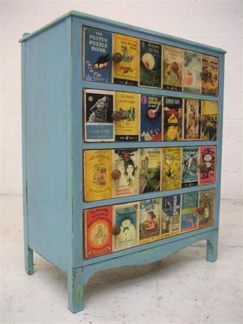 Decoupage Book Cover - decoupage a dresser 15 unique ideas vintage book covers