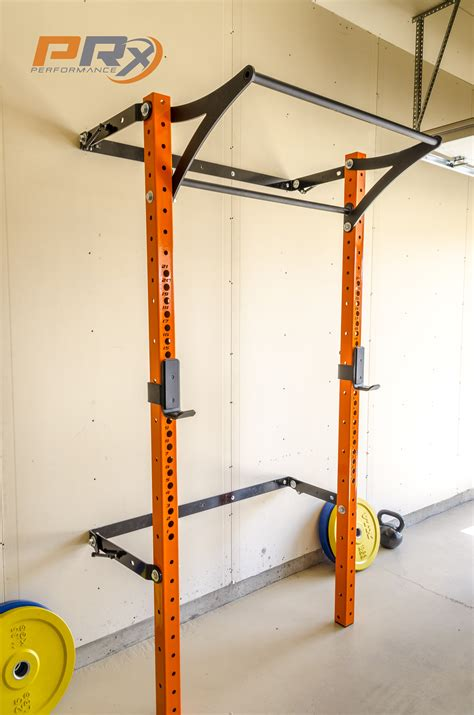 the space saving squat rack and ready to do some work