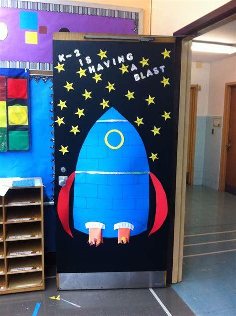 space themed door decorations my kindergarten classroom door door decoration ideas