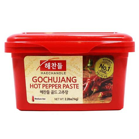 Sajo Gochujang Sambal Pasta Korea Pepper Paste gochujang fermented chile paste 2 2 lbs