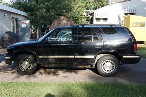 sell used 1997 gmc jimmy slt sport utility 4 door with blown engine for parts or repair in