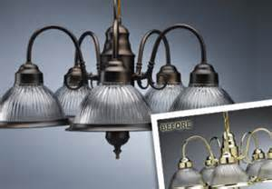 Spray Painting A Brass Chandelier Apply Faux Oil Rubbed Bronze Finish To Chandelier Or