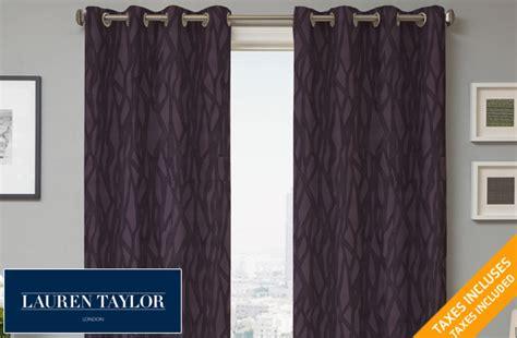 lauren taylor curtains lauren taylor turenne jacquard grommet panels 56 off