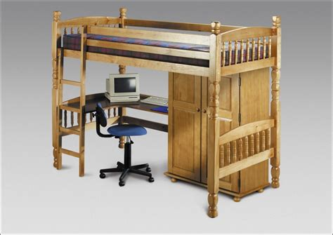 bedsitter bunk bed bedsitter child bunk bed with desk antique pine