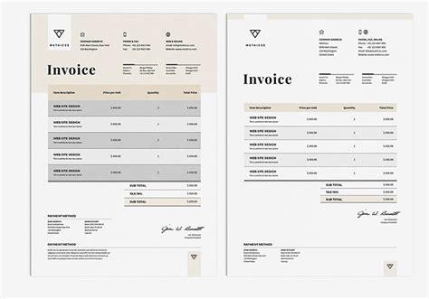 corporate design invoice 50 creative invoice designs for your inspiration hongkiat