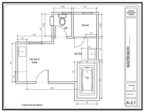 bathroom floor plan design master bathroom design project the design