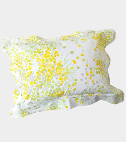 yellow bed pillows d porthault mimosa yellow boudoir pillow traditional