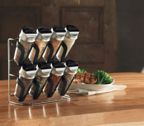 Canada Spice Rack by Walmart Canada Deals 9 97 For Hometrends 8 Bottle Filled
