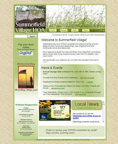 Make A Monthly Newsletter For Your Neighborhood Association With Pre Designed Templates From Free Hoa Newsletter Templates