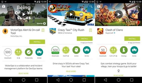 Play Store Badge Play Store Introduces Colorful Badges Denoting Number Of