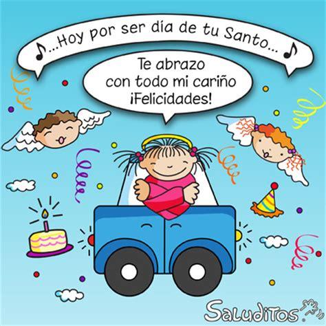 Dia De Tu Santo Calendario Postales Saluditos Amigos