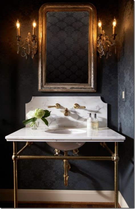 elegant powder rooms elegant powder room powder room pinterest