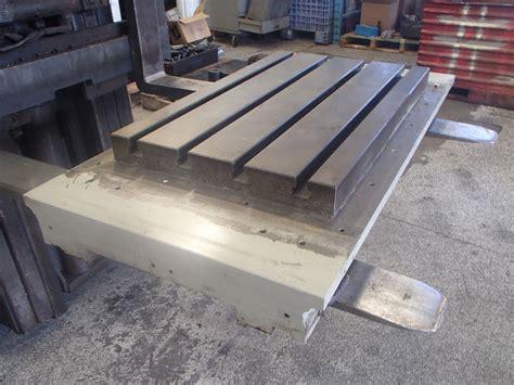 steel t slot table steel 4 slot t slot milling table 25 5 quot x 16 5 quot x 2