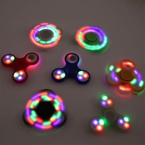led plastic fidget spinner fidget spinner