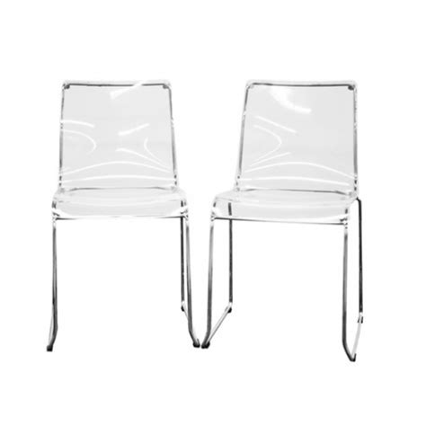 set of 2 acrylic dining chair new lucite chair acrylic