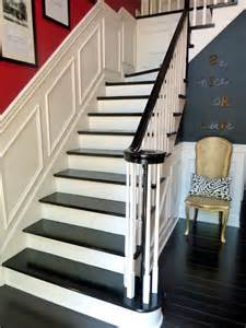 Black Stair Treads by Here She Is The Staircase I Have Always Wanted
