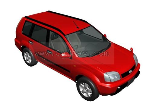 Nose Maxy 1804 nissan x trail 3d model 3ds max files free