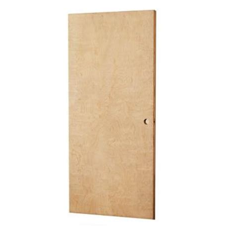 home depot solid core l i f industries 35 75 in x 83 in smooth flush birch solid wood interior door slab