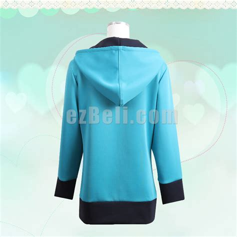 Costume Jaket Sagiri Izumi Eromanga Sensei Size L 54 X 74 eromanga sensei izumi sagiri blue coat jacket hoodie anime