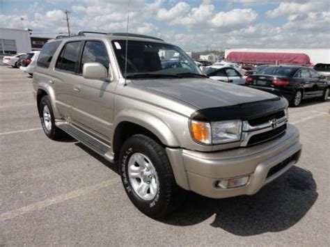2001 Toyota 4runner Sr5 Specs 2001 Toyota 4runner Limited 4x4 Data Info And Specs