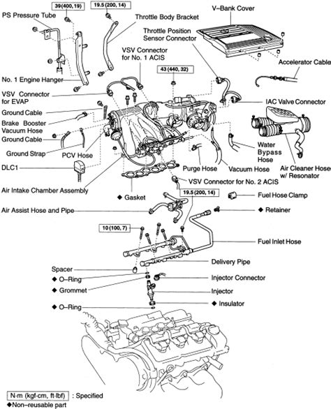 Toyota Fuel System Service Repair Guides Gasoline Fuel Injection Systems Fuel
