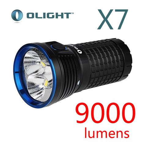Led Xhp 2016 new olight x7 marauder cree xhp 70 led 9000 lumens