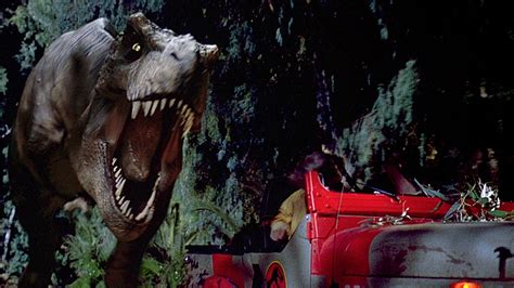 jurassic park car trex how ai helped scientists prove that the t rex most likely