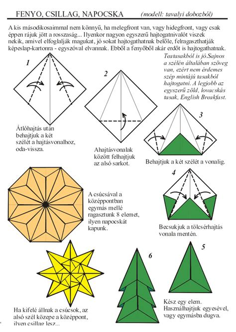 printable origami christmas tree instructions origami christmas zsuzsiorigami