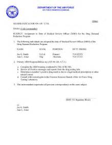 Appointment Letter Format For Reporter 934 Aw Drug Prevention And Education Forum Sample
