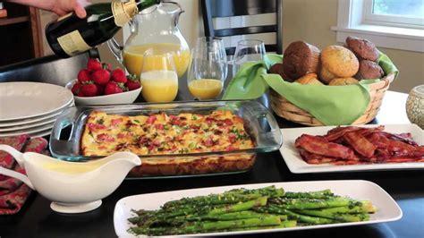 easy elegant easter dinner menu mom favorites holiday brunch easy and elegant christmas breakfast